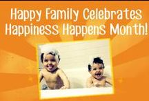 Happiness Happens / Happiness Happens every day! / by Happy Family Organic Superfoods