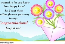 Congratulations / by 123Greetings Ecards