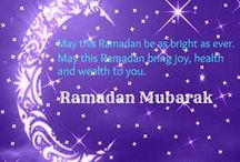 Ramadan / Ramadan, the holy month of fasting from dawn to dusk, celebrates the divine revelation of the Koran to Prophet Muhammad.