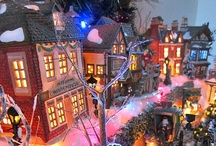 Christmasville / There is something magical about creating a Christmas village. May favorite day of the year is perhaps the day after Thanksgiving when i set mine up. My grandson and I create a story about the village as we set up each house and store. What a great memory! / by Kathy Moncrief