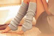 Socks & Leg Warmers / I have a seious obsession with socks! / by Amie Vitito