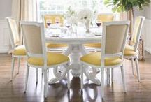 INTERIORS // dining area / by Caitlin Brown Interiors