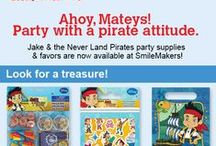 When in doubt, have a party! / Fun character themes and ideas to make your party special. / by SmileMakers