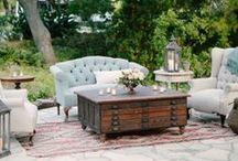 reception decor / by Sara Skinner Scarlet Plan & Design