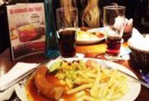 """Eat-it & drink. / """"Le penchant du beau sexe pour la gourmandise a quelque chose qui tient de l'instinct car la gourmandise est favorable à la beauté."""" J.Anthelme Brillat-Savarin / by Anaïs CHIBANI"""