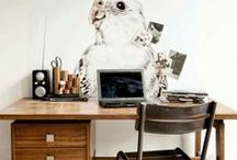 Office | Organization / Everything must have it's place. If it doesn't, life is chaos.  / by elise.