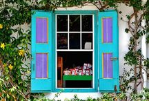 Windows and shutters / by Myra Garcia