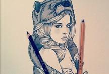 art / by Morgan Agrella