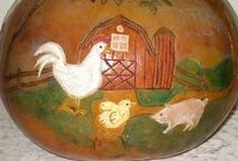 Folk Art / by Cookie Grandma's Collectibles