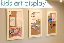 Displaying Kids' Art / by Savvy Kids