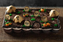 Halloween Recipes & Treats / Recipes and Ideas for Sweet Halloween Treats, Spooky Dinner and Appetizers, and Punch or Mixed Drinks for Your Halloween Party.  / by WebSpinstress