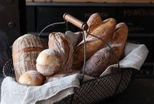 """Bread of Life / Jesus said to them, """"I am the bread of life. Whoever comes to me will never be hungry, and whoever believes in me will never be thirsty."""" (John 6:32-35, New Revised Standard Version) / by Isabel Carreira"""