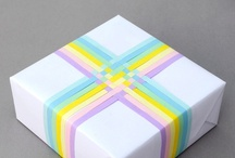 gift wrapping / by Erica Burnett