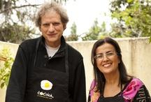 Y además cocinan - Celebrities also cook / El nuevo programa de Canal Cocina, de estreno el próximo abril, nos abre la puerta de las cocinas de las celebrities españolas que mejor se defienden con los fogones. / by Canal Cocina