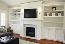 HOME - Family Room (w/ fireplace) / by Make It and Love It