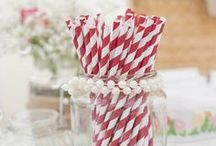Decorating with Paper Straws / by By Invitation Only Blog