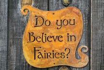 Fairies, Pixies, Brownies, Elves & Gnomes / Magical, ethereal, lovely, mischievous, fanciful and whimsical!  / by CraveCute