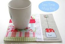 In Stitches: Potholders, Napkins, and Mug Rugs / Potholders, napkins, and coasters / by Jessi James
