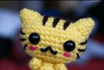Amigurumi: Crochet / A mix of free and for-purchase patterns. :] / by Jessi James