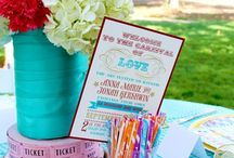 Party Ideas / Ideas for party decor! Party decorations, party themes and party food recipes! / by The Rebel Chick