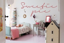 Bohemian-Modern Girl Ideas / A few of my favorite finds and rooms. My boards are a good starting point for anyone designing a child's room or nursery. / by Murals and more by Patrice