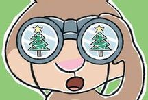 Scaredy Squirrel Prepares for Christmas / Get ready for Christmas with this great Scaredy Squirrel guide. / by Kids Can Press
