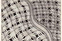 A. Art : Zentangle Areas / by A.J. Sarine