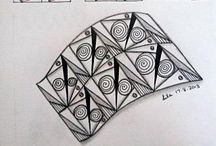 A. Art : Zentangles to learn next / by A.J. Sarine
