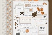 Halloween scrapbooking kits  / by Rikki Donovan