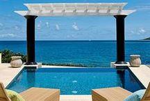 Outdoor Rooms / Dining al fresco, courtyards, walkways, lounge areas and escapes / by Amanda Carol Interiors