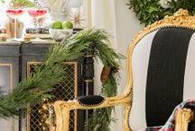 Christmas Decor / #holiday #christmas #decor  / by Amanda Carol Interiors
