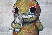 Art / Ilustraciones / Art, Illustrations, Drawings. / by Ale