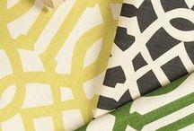 Fabric / #fabric  / by Amanda Carol Interiors