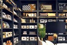 Bookshelves / #bookshelves #bookshelf  / by Amanda Carol Interiors