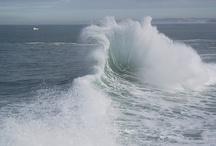 """Mares y Oceános / Debe haber algo extrañamente sagrado en la sal: está en nuestras lágrimas y en el mar""""  Khalil Gibran  / by Marien M. Gª"""