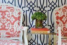 Wallpaper / #wallpaper  / by Amanda Carol Interiors