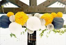 Gray&Blue&Yellow wedding. / by Sharon Lim
