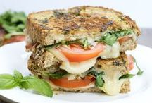 Sandwiches and Wraps / Lunch or dinner, love a good sandwich or wrap.  / by Mama Maggie's Kitchen - Maggie Unzueta