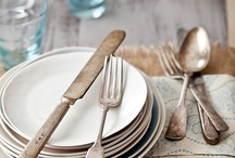 deeAuvil Tableware / Dishes, silverware, table settings / by Catherine dee Auvil