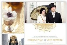 wedding inspiration board challenge / by Minted
