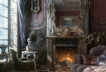 Interior Inspiration- Living Room / by Caitlin McCarthy