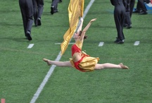 Marching Band | Colorguard / My marching band and colorguard photography.  / by Rebecca Hedges Lyon