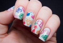 bigRuby mani's / a collection of creative bigRuby nail tattoo manicures.  / by maria cavanaugh