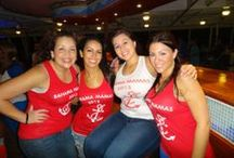 Bachelorette Party Shirts / Here are some hot looks from BridalPartyTees.com for your bachelorette party! We have t-shirts, tank tops, trendy flowy tops and more! Customize our designs with your own names, dates and colors! / by Bridal Party Tees
