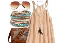 Summer/Beach Style / by Desiree Lambert