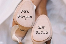 Wedding Shoes / Everything about the Bride must be fabulous on her big day from head to toe!  / by Bridal Party Tees