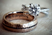 Ring Bling / Inspiration for your wedding bands to make them extra special! / by Bridal Party Tees