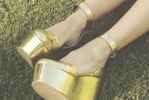 GOOD AS GOLD. / Autumn/Fall 2014 Trend: Copper+Gold / by Pinky To Posh
