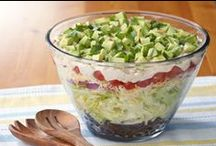 *Salad~Not Just Rabbit Food!* / Lovin' lettuce~~for recipes, just click on photos! / by Jo Niehoff