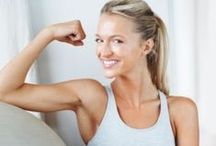 Get Fit- Upper Body / Good upper back, arms and shoulder workout / by Liana Love